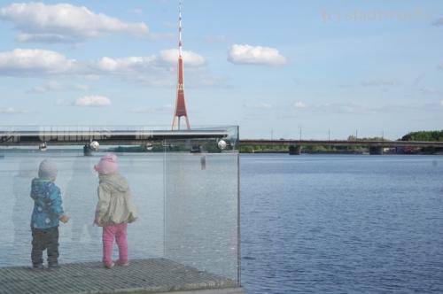 Riga Daugava Düna Fluss