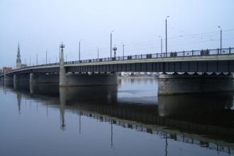 Riga Akmens tilts für stadtwuchs