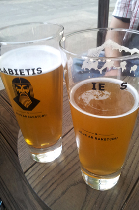 Labietis Brewery Riga eat and drink