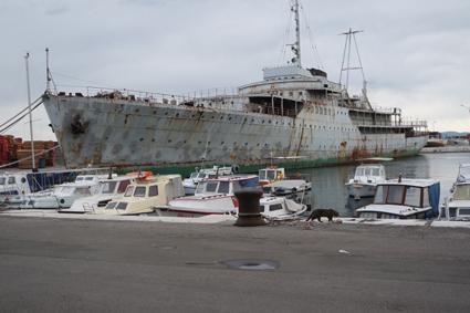 Rijeka Tito Yacht Staatsschiff Jugoslawien