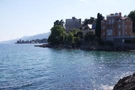 Opatija bietet eine endlos lange Strandpromenade und viele wunderbare Aussichtspunkte