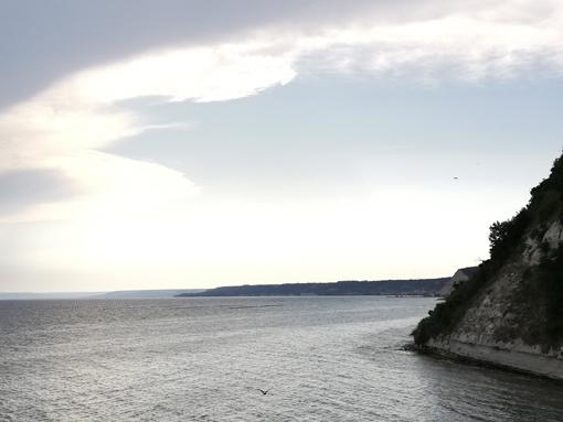 Strand am Schwarzen Meer Reisetipp Bulgarien Küste Varna Kawarna nicht am Goldstrand Steilküste Nordbulgarien