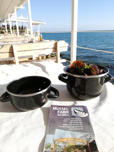 Dalboka Muschel Farm Moules Mussels Bulgarien
