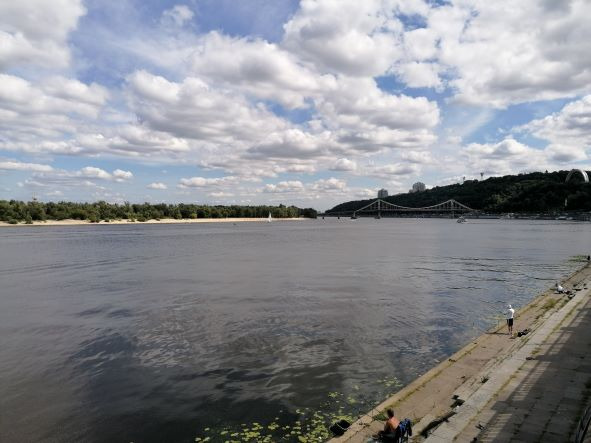 Dnjepr in Kiew Bootstouren