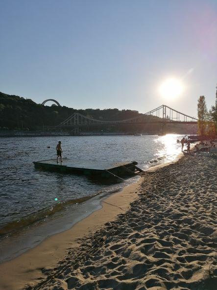 Dnjepr Reise Kiew Strand Tipp Empfehlung