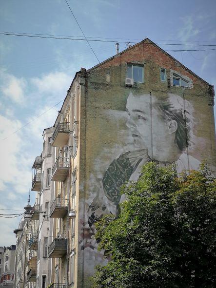 Strret Art in Kiew Touren Reise travel Ukraine